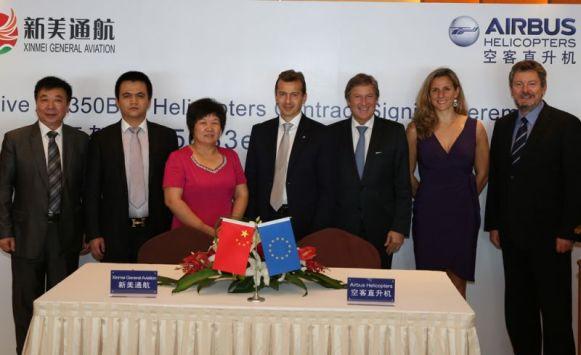 Chine : Airbus Helicopters signe un contrat géant