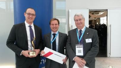 Photo Ch. Gilguy. Anton Boroznenko, Thomas Naulleau, et Michel Tissinier