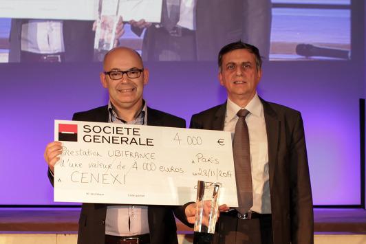 Palmarès Moci : Cenexi reçoit le prix Croissance Export