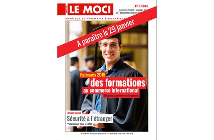 Le Palmarès 2015 des formations au commerce international et son guide pratique disponible le 29 janvier (Le Moci)