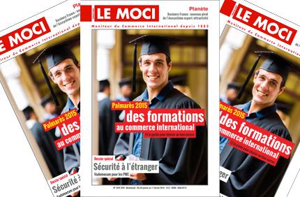 Palmarès 2015 des formations au commerce international – édition 2015