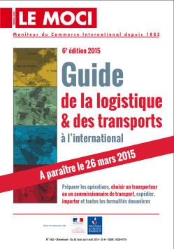 PME et ETI à l'export : votre Guide 2015 de la logistique & des transports à l'international est sorti