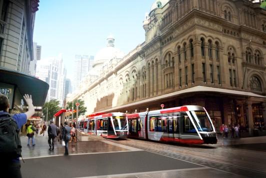 Australie : Alstom va fournir 30 tramways Citadis X05 à Sydney