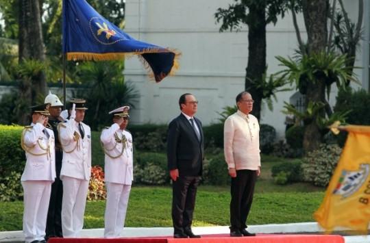 Philippines-France : retour sur les retombées du voyage du président Hollande