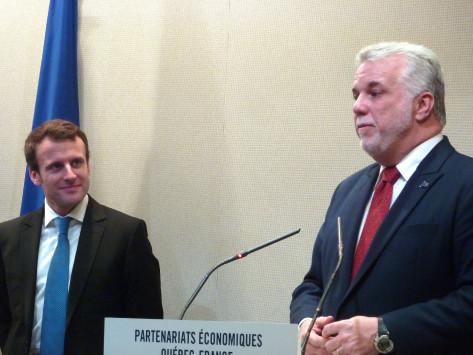 Québec-France : le Premier ministre Philippe Couillard annonce à Paris une intensification de la coopération économique