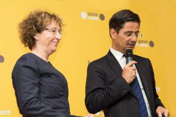 Muriel Pénicaud et Nicolas Dufourcq le 12 mars pour le bilan 2014 de Bpifrance