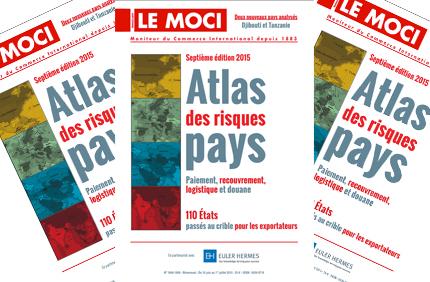 Atlas des Risques pays du MOCI, l'édition 2015 sort le 18 juin