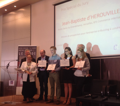 CCEF/Grand prix de l'international : les quatre lauréats du palmarès 2015