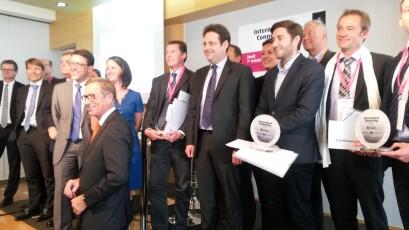 Remise des Trophées ICD Nantes 2015 le Ch Gilguy