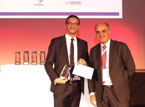 Palmarès Moci : Sigfox – Prix Exportateur d'avenir 2015