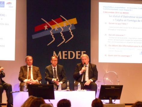 Douane / Logistique : le Medef et la Douane sensibilisent les entreprises au nouveau Code des douanes de l'Union