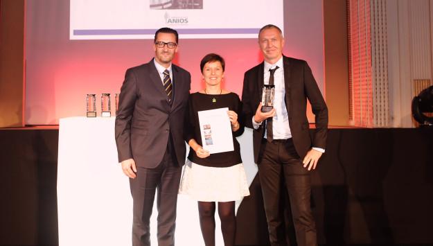 Palmarès Moci : Laboratoires Anios – Prix Performance logistique 2015