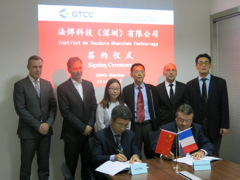 Soudage/Développement international : l'Institut de soudure crée une coentreprise en Chine avec GTEC