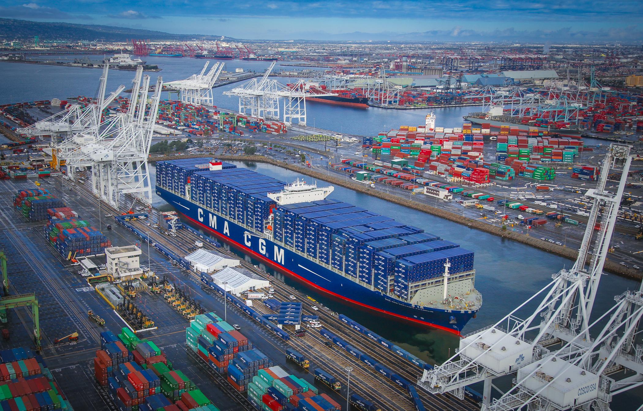 La stratégie des Etats-Unis en matière de commerce maritime