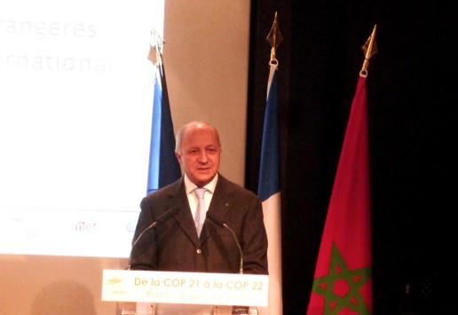 COP 21 / International : Laurent Fabius invite les entreprises à s'engager sans tarder