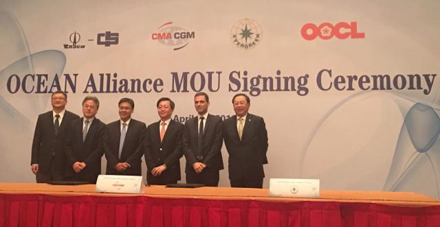 Transport maritime / Logistique : méga alliance entre CMA CGM, Cosco, Evergreen et Orient Overseas