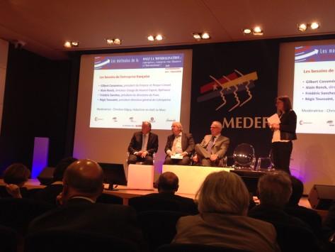 Export / Matinale du Medef : le système français de soutien à l'export est de qualité, mais trop lourd…