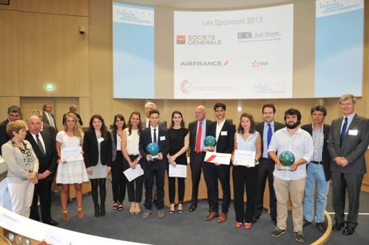 Grand prix export 2015 des CCEF d'Aquitaine : trois lauréats récompensés à Bordeaux