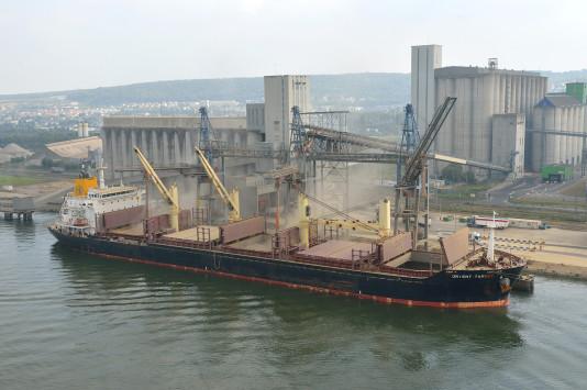 Céréales / Trafic maritime : des exportations records pour le Port de Rouen