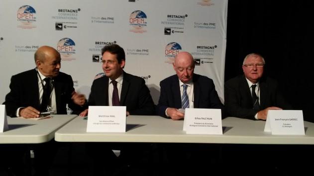 Bretagne / International : les bons comptes de l'équipe bretonne à l'export