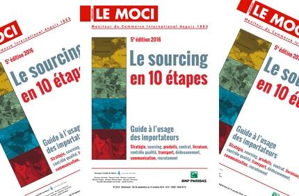 Nouvelle parution Moci : Le sourcing en 10 étapes – 5e édition, 2016