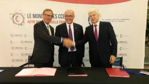 """Export / Accompagnement : pour leur premier """"Mondial"""", les CCEF signent un partenariat avec les CCI"""