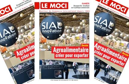 Nouvelle parution MOCI : « Agroalimentaire : créer pour exporter »