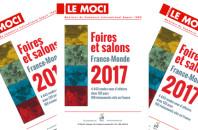 Prochaine parution MOCI : Foires et salons France-Monde 2017, 4 443 rendez-vous dans 120 pays