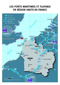 Maritime / Ports : les Hauts-de-France veulent devenir un hub logistique pour le nord-ouest de l'Europe