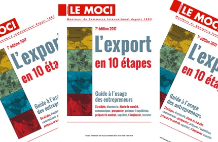 Nouvelle parution MOCI : L'export en 10 étapes – 7e édition, 2017