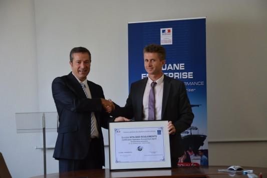 Export / Douanes : NTN-SNR Roulements reçoit le statut OEA