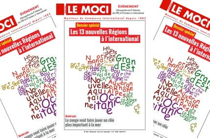 Nouvelle parution MOCI : Les 13 nouvelles Régions à l'international