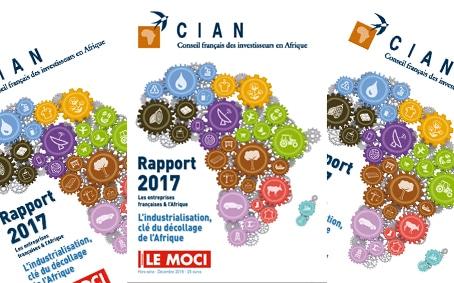 Parution du Rapport 2017 : Les entreprises françaises et l'Afrique (CIAN, Moci)