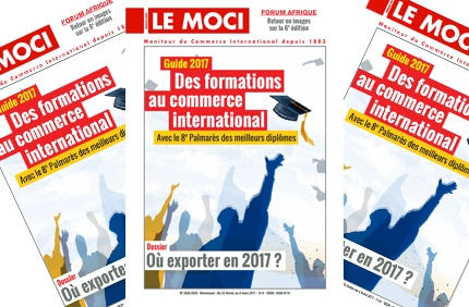 Le Guide 2017 des formations au commerce international (Le Moci)