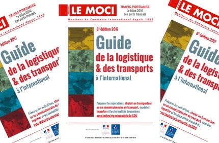 Nouvelle parution MOCI : Guide de la logistique & des transports à l'international, 8ème édition