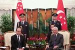 Visite de Hollande à Singapour © Présidence de la République - L. Blevennec