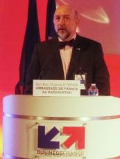 Franics Etienne, ambassadeur de France au Kazakhstan
