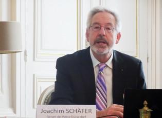 Joachim Schäfer, gérant de Messe Düsseldorf