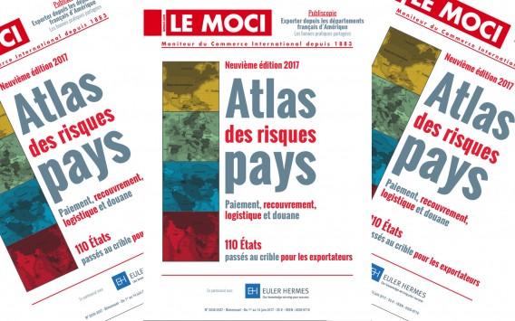 Nouvelle parution Moci : Atlas des risques pays 2017, 9e édition