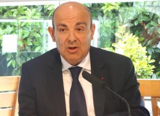 Eruc Trappier, premier vice-président du Gifas, P-dg de Dassault Aviation
