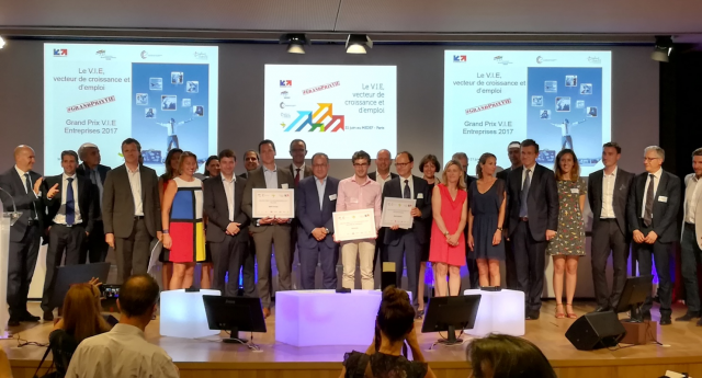 Grand Prix V.I.E 2017 : Ikos Group, Secure-IC, Veolia, Saint-Gobain, Selectra et Forsee Power
