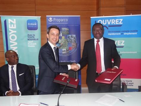 Financements / Afrique de l'Ouest : Proparco signe avec Ecobank sa première opération de trade finance