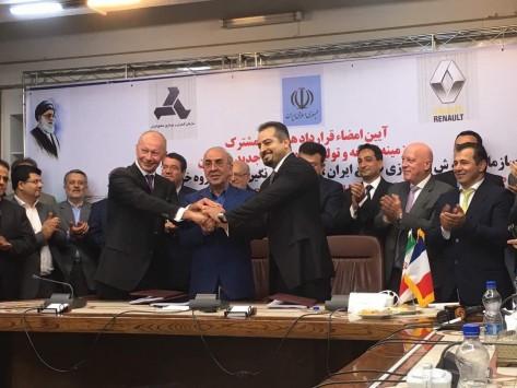 Automobile / Iran : Renault renforce sa présence en se dotant d'un nouveau site de production