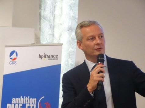 Industrie / Export : Bruno Le Maire veut promouvoir la French Fab dans le monde