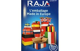 Communication / Export : comment Raja affirme sa touche européenne