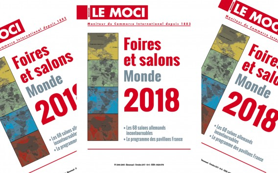 Nouvelle parution Moci : Foires et salons Monde 2018