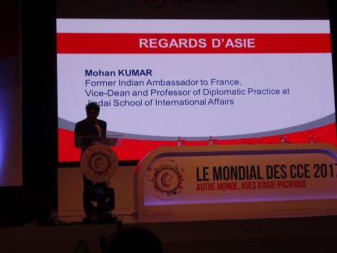 Mondial CCE / Asie : quand un diplomate indien livre une leçon de savoir-faire aux Français