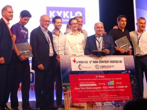 Mondial CCE 2017 : Edukasyon lauréat du premier concours French Tech Asie