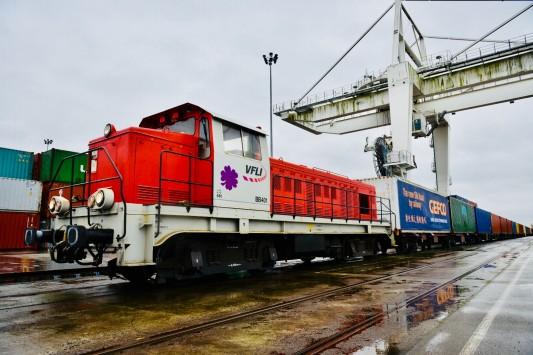 Transport / Commerce : Gefco réceptionne son premier train sur la Route de la soie
