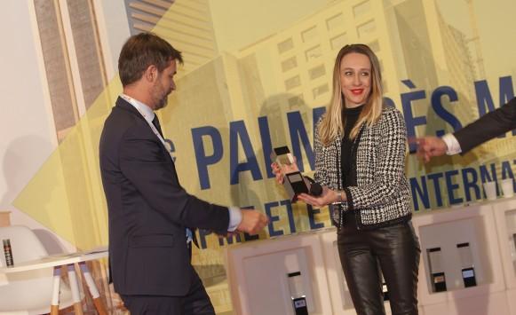 Palmarès MOCI 2017 : Anne Delleur (Arcancil), Prix Exportateur de l'année